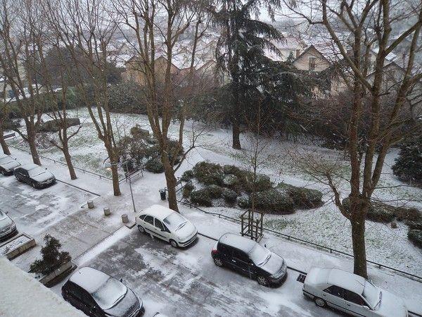 La neige vue de ma fen tre for Vue de ma fenetre